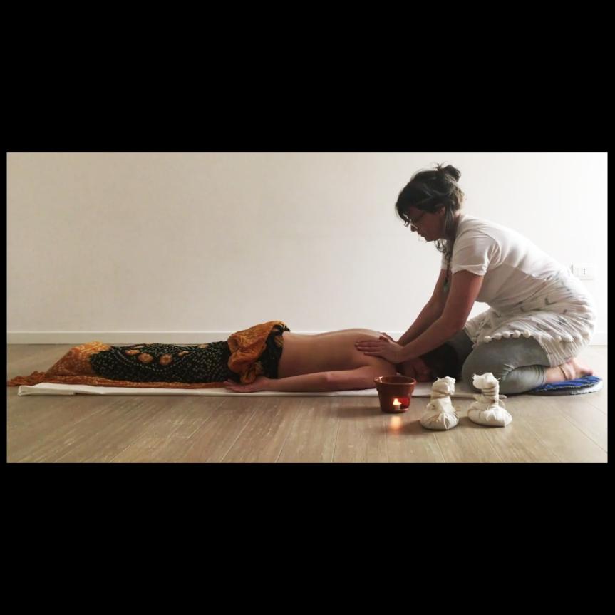 DARE E RICEVERE  il massaggio ayurvedico(Elena)