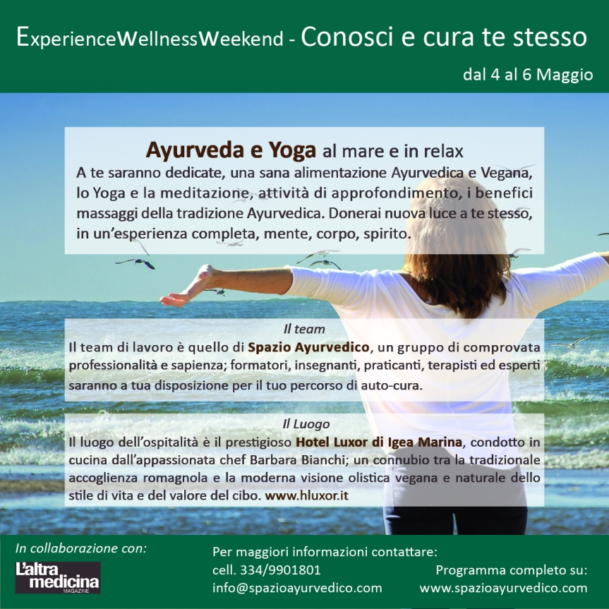 Wellness Weekend  di Yoga e Ayurveda